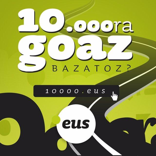 """""""10.000Ra Goza, Bazatoz?"""" Gonbita Egin Zaio Gizarteari"""