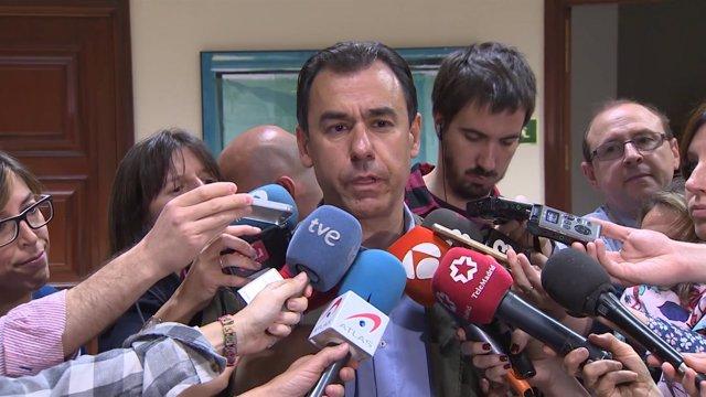 Fernando Martínez-Maíllo en el Congreso de los Diputados