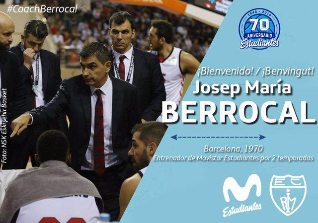 Josep María Berrocal, nuevo entrenador del Estudiantes
