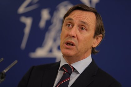 """Hernando (PP) espera que haya """"un acuerdo en torno a un candidato"""" para suceder a Rajoy"""
