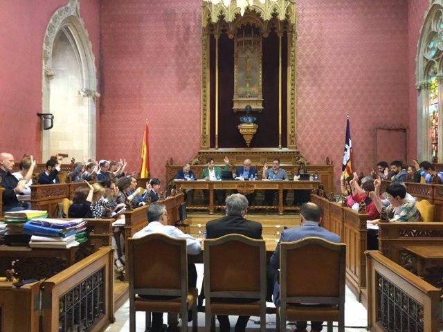 Pleno del Consell de Mallorca este jueves
