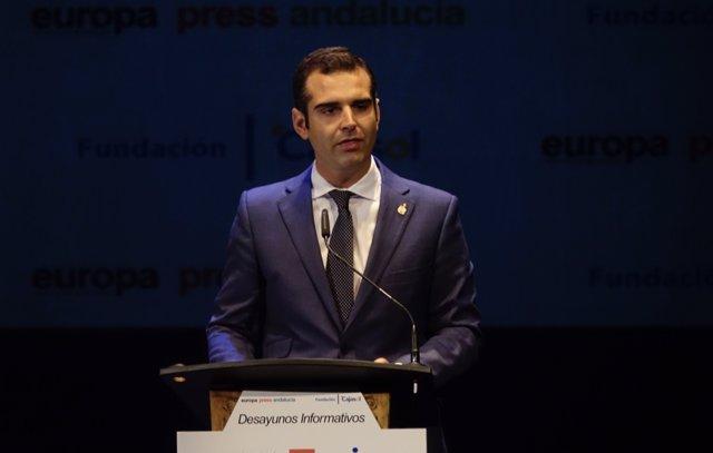 Ramón Fernández-Pacheco, convencido de que Almería será CEG en 2019.