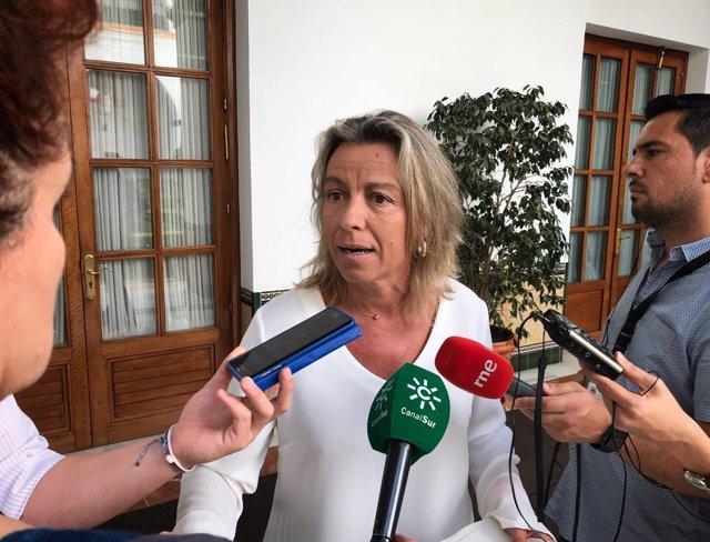 La diputada de Cs Andalucía Isabel Albás
