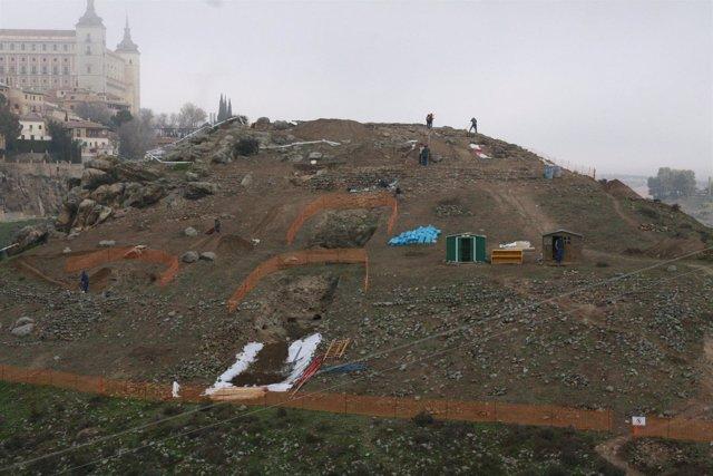Cerro del bú, Toledo, Alcázar