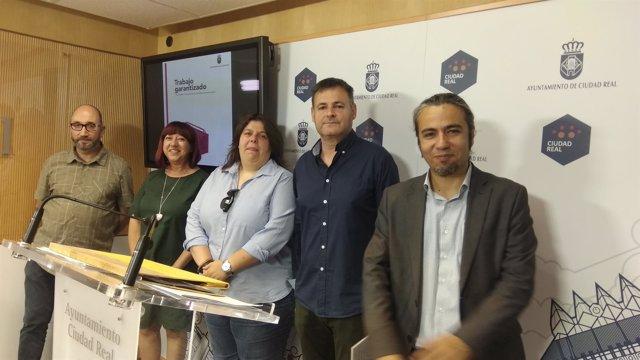 Rueda de prensa Plan de Empleo Garantizado Ciudad Real