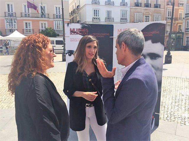 María Márquez, del PSOE-A en un acto en Cádiz