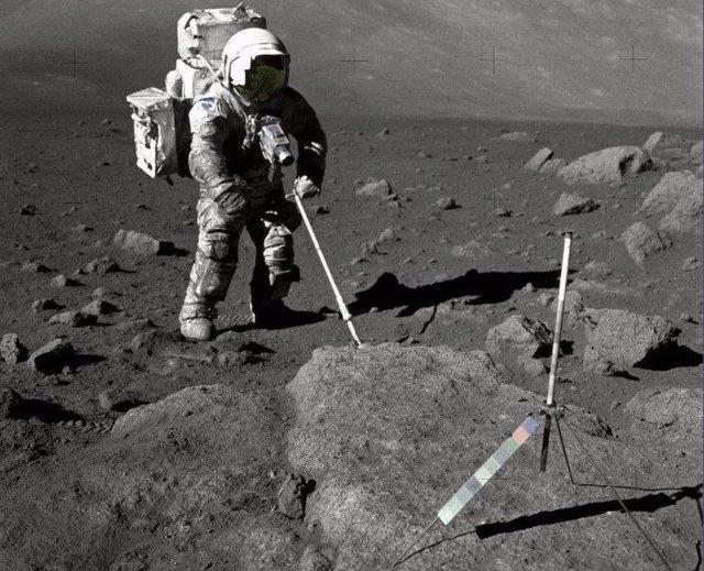 Astronauta de la Aplo 17 Harrison Schmitt