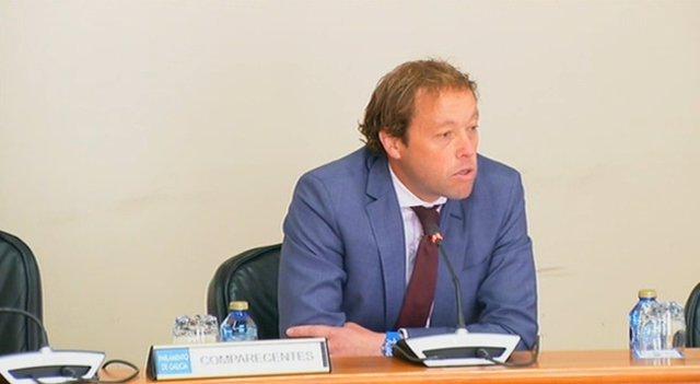 El director xeral de Política Financeira, David Cabañó