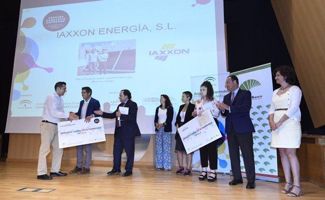 Premios Andalucía Emprende, fase provincial de Sevilla.