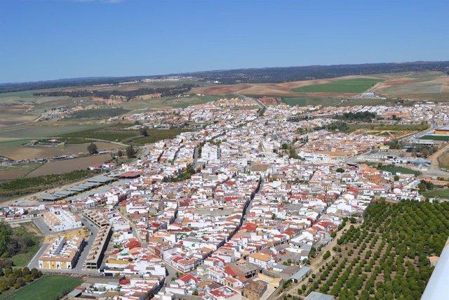 Casco urbano de Guillena