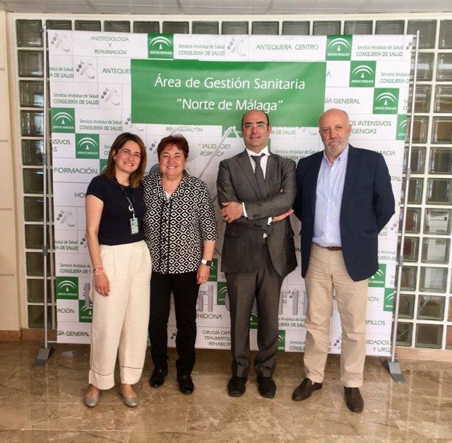 Nuevo gerente zonas saniarias de Málaga