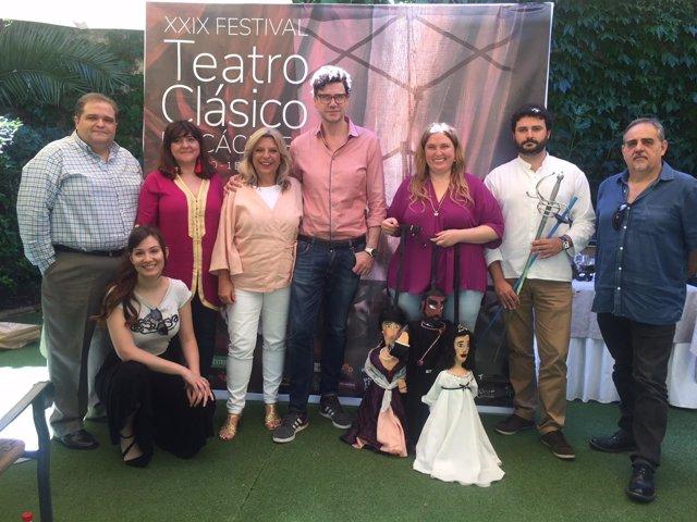 Programación off del Festival de Teatro Clásico de Cáceres