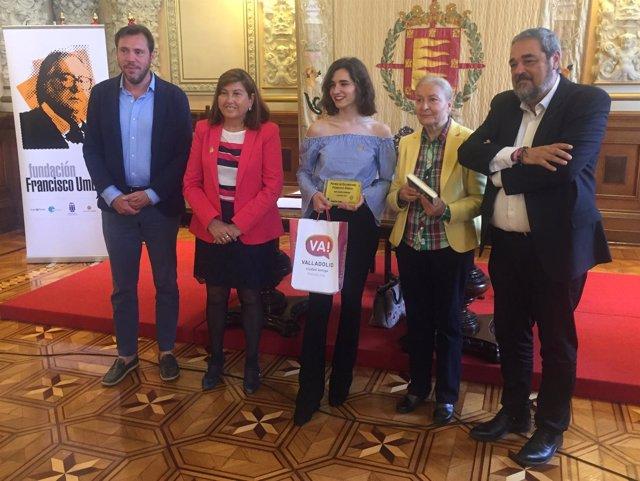 Entrega del primer Premio de Columnismo Francisc Umbral