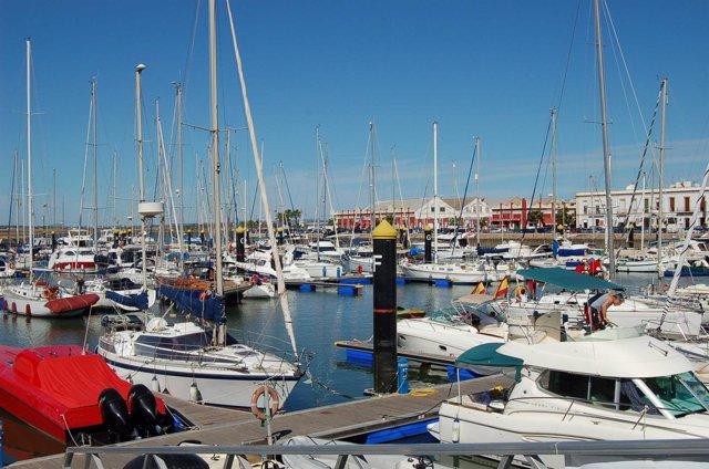 Puerto de Ayamonte (Huelva).