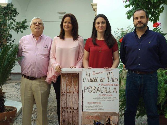 Gómez (dcha.) y Mellado presenta la actividad