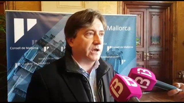 Portavoz del PP en el Consell de Mallorca, Mauricio Rovira