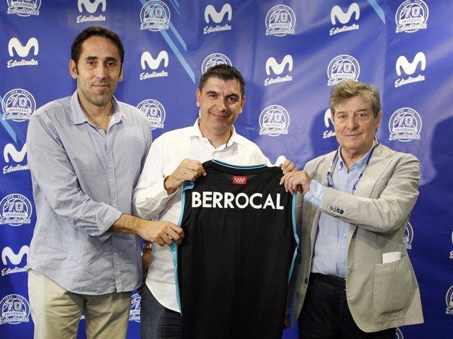 Josep María Berrocal, presentado en el Estudiantes