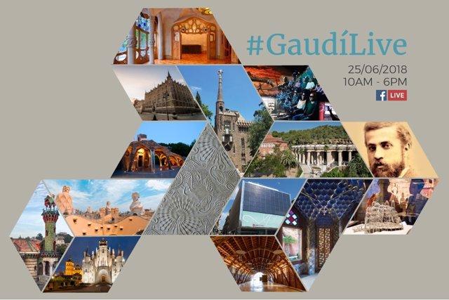 Conmemoración del 166 aniversario de Gaudí.
