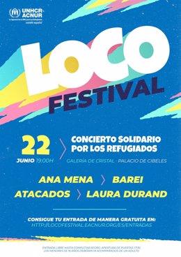 Loco Festival_Cartel escenario principal