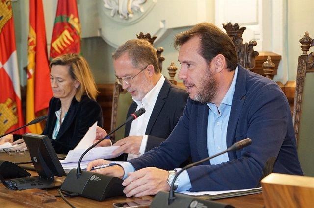 Saravia y Puente en el Consejo Social de la Ciudad