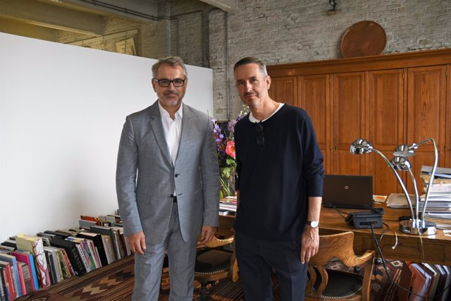 Marc Puig (Puig) y Dries Van Noten