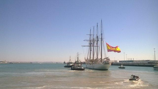 El buque escuela 'Juan Sebastián Elcano'