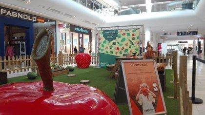 Vallsur se convierto en un huerto urbano para concienciar a los niños en medio ambiente a través de diversas actividades