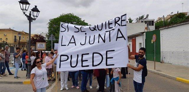 Protesta de los inquilinos