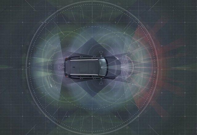 Sensores de vehículos autónomos de Volvo Cars