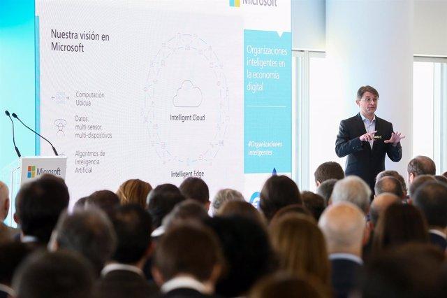 El vicepresidente corporativo de IA de Microsoft Corp, Jordi Ribas
