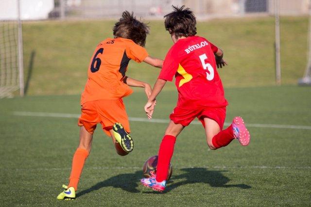Torneo de fútbol para niños