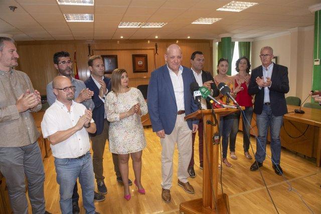 Gerardo Sánchez presenta su dimisión como alcalde armillero
