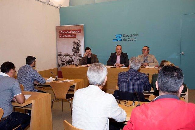 Presentación de Aula Itinerante de Memoria Histórica de Diputación