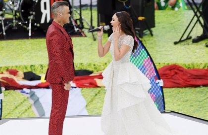 Robbie Williams, Aida Garifullina e Iker Casillas, los protagonistas de la apertura del Mundial 2018