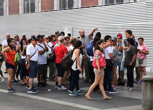 Turismo, turista, turistas en Madrid