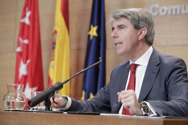 El presidente de la Comunidad de Madrid en funciones, Ángel Garrido