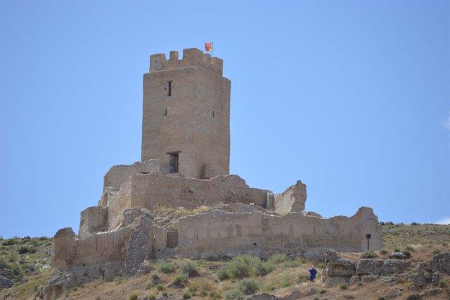 Castillo de Cadrete (Zaragoza)
