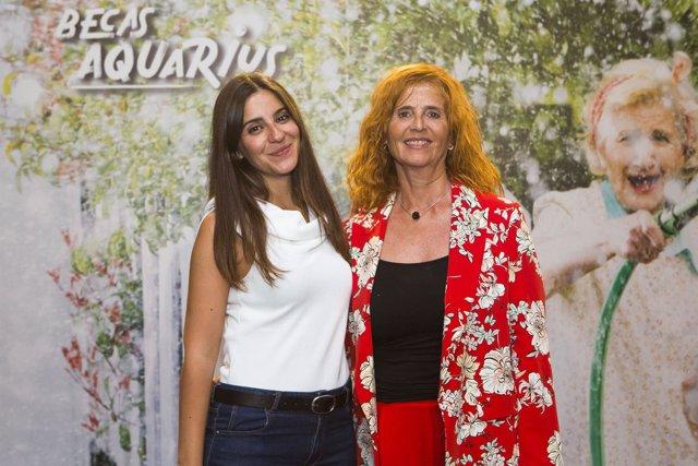 La sevillana Constanza Lucadamo, finalista de las becas de Aquarius-Coca Cola