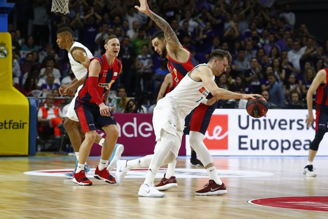 Doncic en el Real Madrid - Baskonia