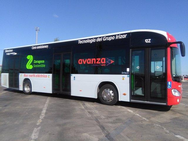 Un nuevo autobús en pruebas 100% eléctrico presta servicio desde ...