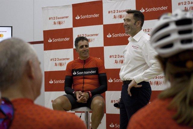 Miguel Indurain finaliza la Vuelta 1/2/3 sin efectivo de Santander