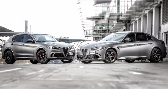 Alfa Romeo Stelvio y Giulia Quadrifoglio 'NRING'