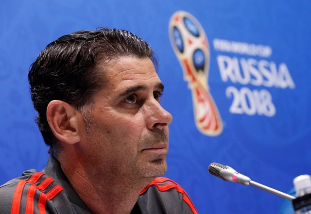 El seleccionador español de fútbol, Fernando Hierro