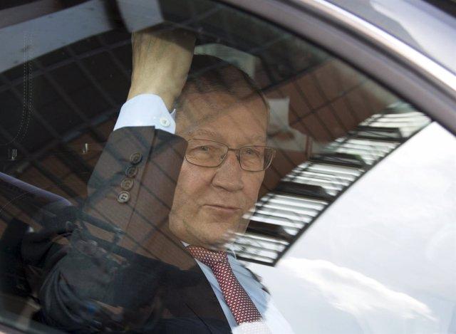 Head of the European Stability Mechanism Klaus Regling