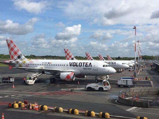 Aviones de Volotea