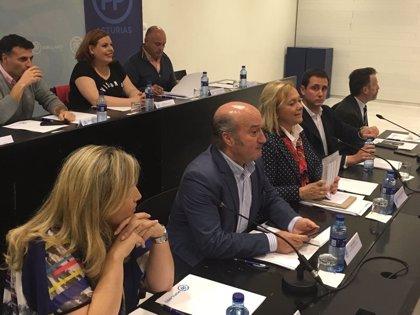 El PP asturiano espera que la nueva presidencia del partido conjugue liderazgo interno y confianza de los españoles