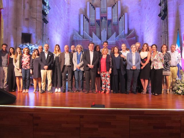 Gala certámenes literarios Diputación de Cáceres