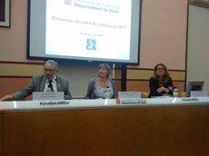 Les dones catalanes tenen hàbits més saludables que els homes però pitjor salut (EUROPA PRESS)