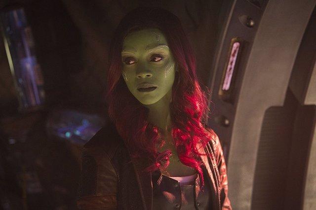 Gamora en Infinity War