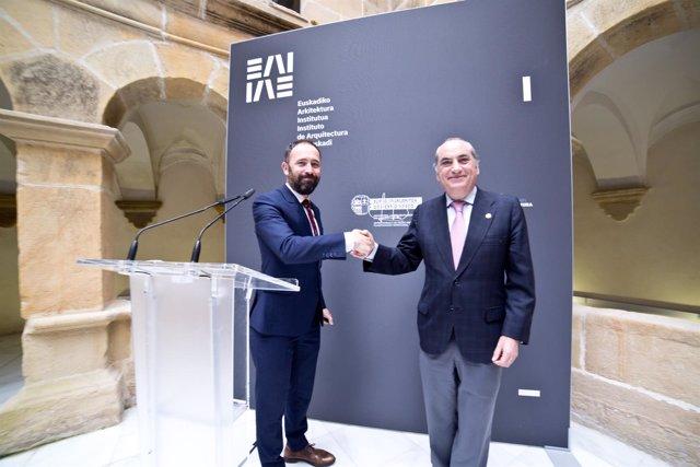 Denis Itxaso e Iñaki Arriola
